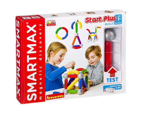 Магнитный конструктор SMARTMAX Основной (Basic) набор 30 дет.