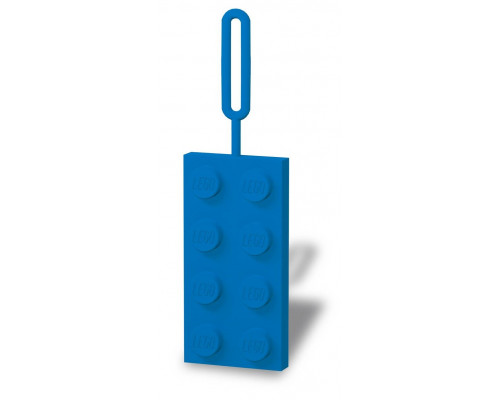 Бирка для багажа LEGO синяя