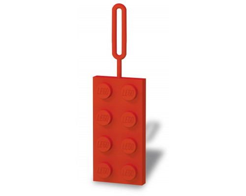 Бирка для багажа LEGO красная