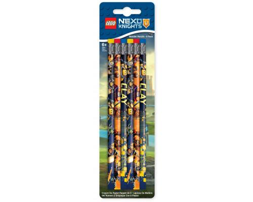 Набор карандашей 6 шт. LEGO Nexo Knights Рыцари Нексо