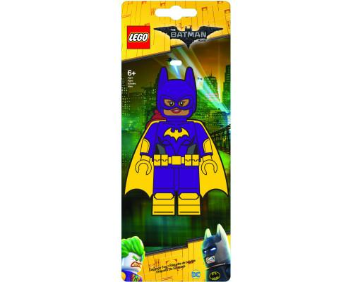 Бирка для багажа LEGO Batman Movie Лего Фильм: Бэтмен Batgirl
