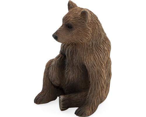 Животные Mojo Animal Planet Медведь Гризли детёныш