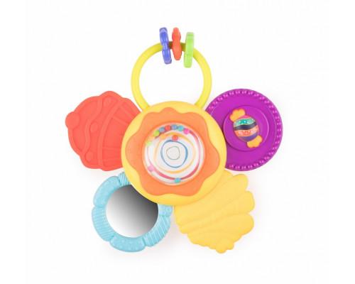 Игрушка для малышей погремушка CANDY FLO, HAPPY BABY