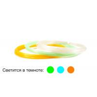 Светящийся пластик для 3D ручек UNID PRO-F 3 цвета по 10 м.