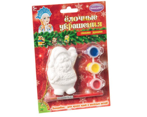 Bondibon Ёлочные украшения Дед Мороз