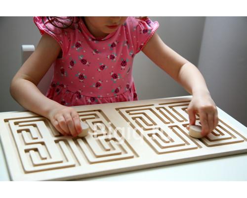 Детская игрушка Межполушарная дидактическая доска (лабиринт)