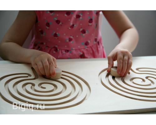 Детская игрушка Межполушарная дидактическая доска (мозг)