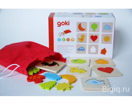 Пазлы по форме Goki