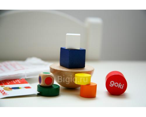 Игра на равновесие с кубиком Goki