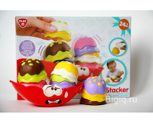 Детская игрушка Балансир с формами Мороженое