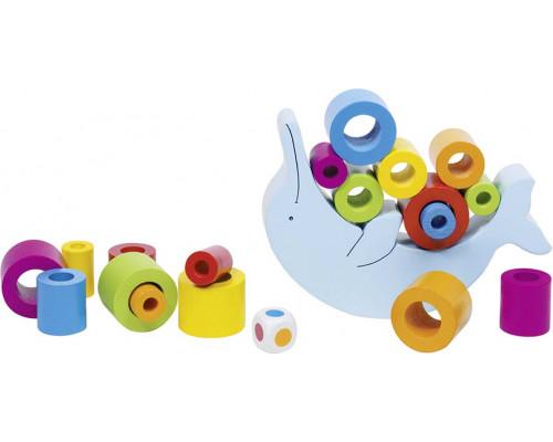 Детская игрушка Балансир Дельфин Goki