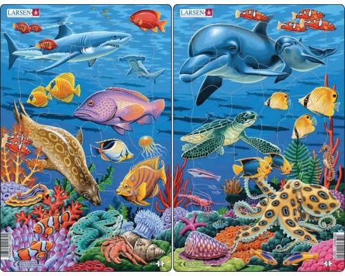 Пазл Larsen Коралловый риф 25 эл.