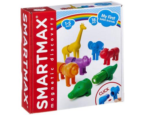 Магнитный конструктор SmartMax - Мой первый сафари-зоопарк