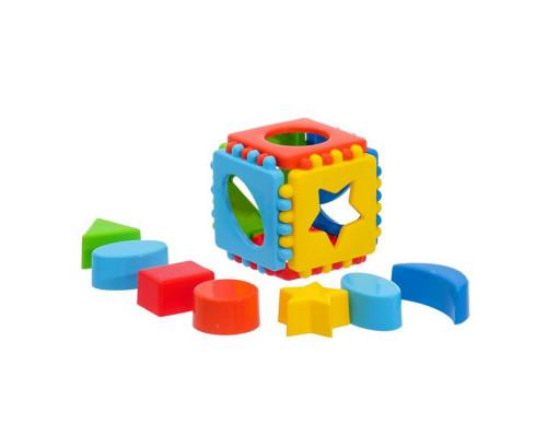 Сортер Кубик логический малый
