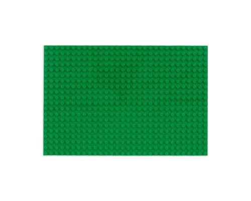 Пластина-основание для конструктора 16х24 см зеленая