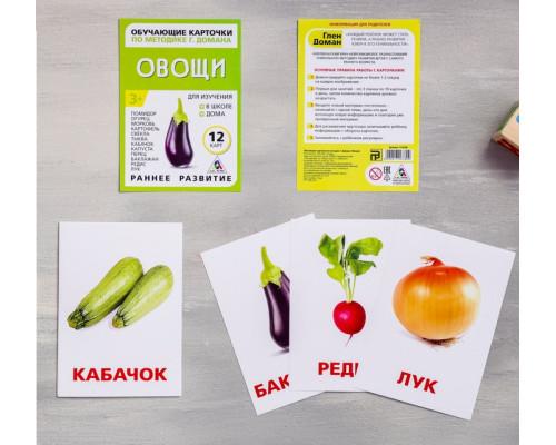 Карточки Домана Овощи