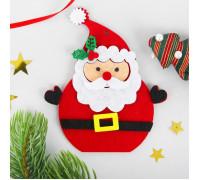 Набор для творчества из фетра Дед Мороз Красный Нос