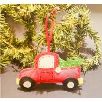 Набор для создания подвесной ёлочной игрушки из фетра Машинка