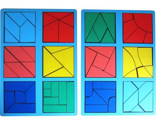Сложи квадрат Б.П.Никитин 3ур. (мини)