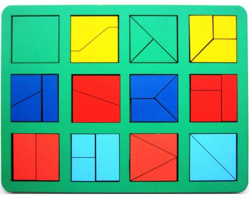 Сложи квадрат Б.П.Никитин 1ур. (макси)