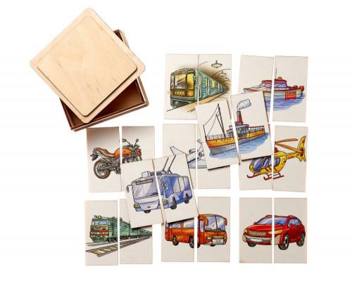 Пазл Картинки-половинки Транспорт