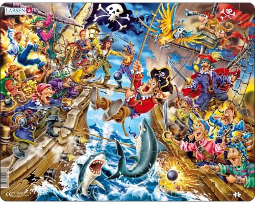 Пазл Larsen Пираты 39 эл.
